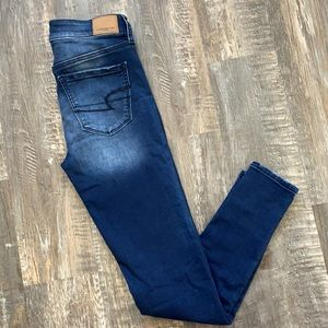 American Eagle Hi Rise jeggings jeans